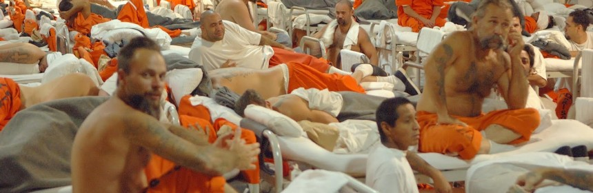 Prison overcrowding at California Prison