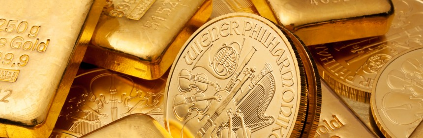 Gold bars and coins unclaimed property